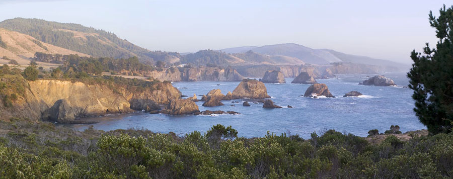 View from Cuffy's Cove in Central Mendocino Coast photo gallery