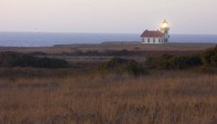 Evening at Pt. Cabrillo in manmade objects photo gallery