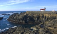 Lighthouse on the Rocks in Russian Gulch to Fort Bragg photo gallery
