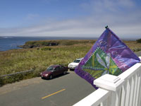 View from Artists' Co-Op Gallery in Mendocino photo gallery
