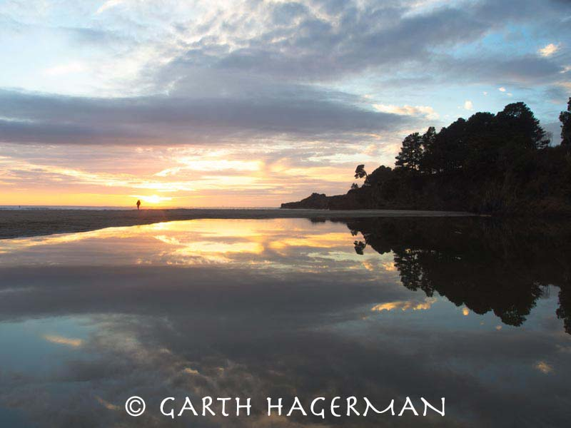 Lagoon Reflections in Mendocino photo gallery