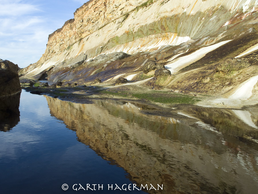 Reflected Cliff on Garth Hagerman Photo/Graphics