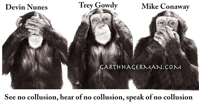 See No Collusion on Garth Hagerman Photo/Graphics
