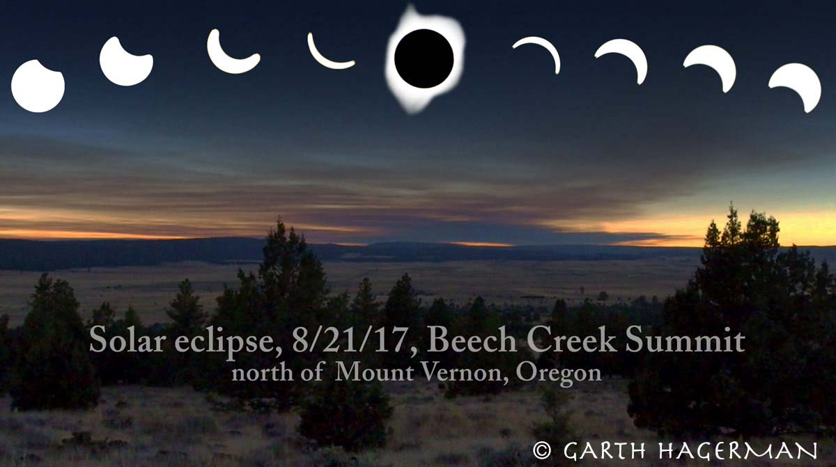 Solar Eclipse Composite in Oregon photo gallery