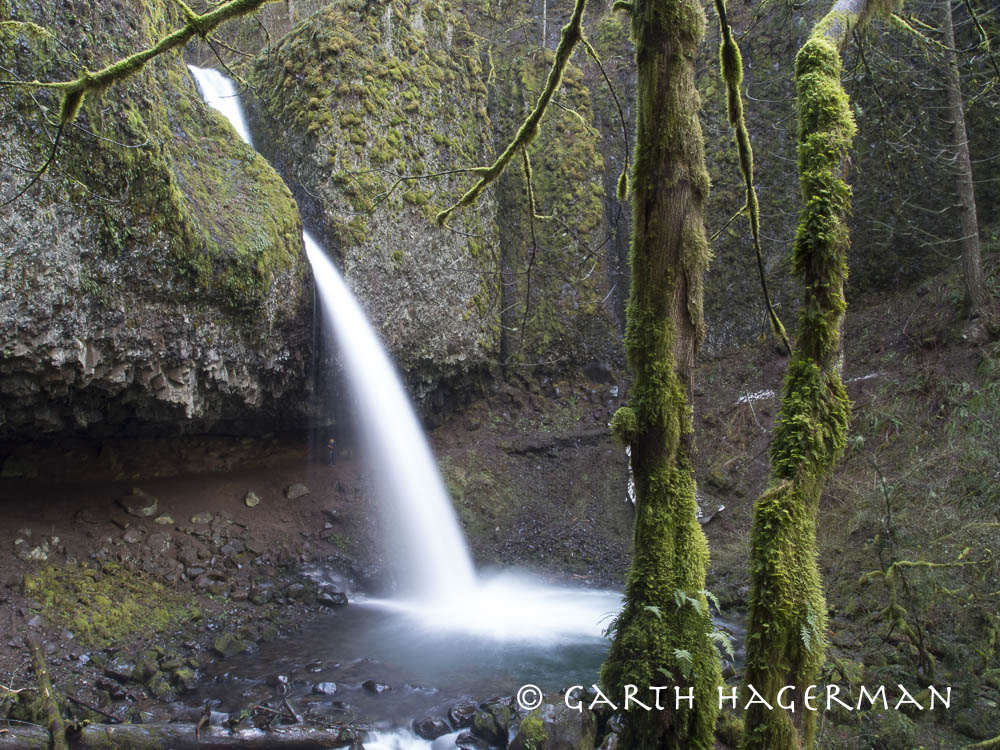 Upper Horsetail Falls in Oregon photo gallery