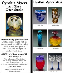 Art Glass Flyer in Print Design photo gallery