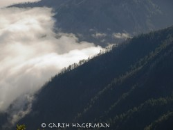 Fog From King's Peak in fog photo gallery