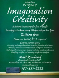 Imagination and Creativity Class in graphic design photo gallery