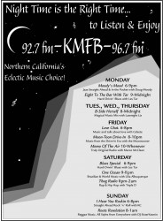 KMFB Radio Ad in Print Design photo gallery