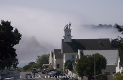 Mendocino Morning in fog photo gallery