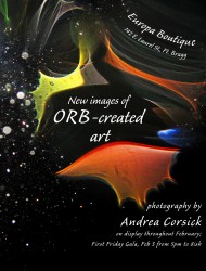Orb Art Poster in Print Design photo gallery