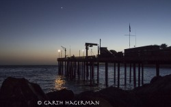 Point Arena Pier in astronomy photo gallery