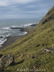 Punta Gorda Bluffs in Lost Coast photo gallery