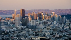 San Francisco Skyline in manmade objects photo gallery