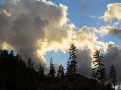 Thunderheads Over the Illinois in Oregon photo gallery