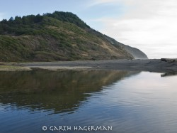 Usal Lagoon in reflections photo gallery