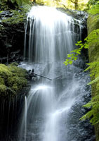 Russian Gulch Falls in Russian Gulch to Fort Bragg photo gallery