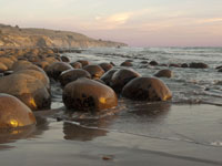 Bowling Balls in the Tide in Southern Mendocino Coast photo gallery