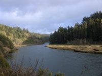 Evening at Big River in Mendocino photo gallery