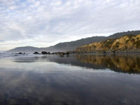 DeHaven Reflections in seascape photo gallery